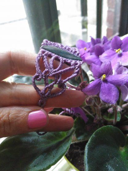 handmade macrame bracelet adjustable free shipping